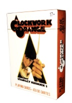 A CLOCKWORK ORANGE CARDS clockwork orange, stanley Kubrick,