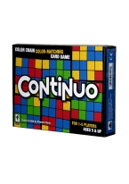 CONTINUO continuo, card game, color matching, color chain, color,