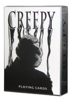 CREEPY PLAYING CARDS Creepy, spooky, halloween,