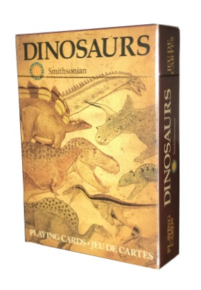Dinosaurs smithsonian playing cards