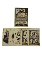 Embossed US Presidents- Bicycle Bicycle, USPC, Presidents, Republicans, political Cards,