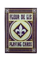 fleur De Lis- Purple