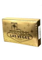 FOIL CARDS LAS VEGAS SIGN gold, las vegas, playing cards,