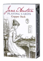 JANE AUSTEN playing cards, jane austen, author, literature, book, pride and prejudice, emma, feminist