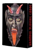 KRAMPUS playing cards, cards, vintage, krampus, alpine, folklore, evil, spooky, christmas, grinch