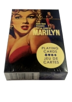 NORMA JEAN AS MARILYN marilyn, marilyn monroe, monroe, norma, jean, noma jean, playing cards, vintage, 50s,