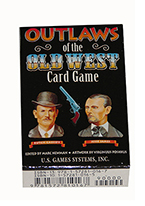 OUTLAWS OF THE OLD WEST CARD GAME Plastic playing cards, plastic poker playing cards, low vision cards, large print cards, jumbo index cards, paper cards, professional poker cards, used casino cards, Tally Ho cards, Tally Ho Viper cards, used Strip casino cards, Kem cards, Kem poker cards, Kem bridge cards, Kem jumbo cards, Kem standard index cards, Kem narrow jumbo cards, Kem Jacquard playing cards, bicycle cards, Theory 11 cards, Ellusionist playing cards, fantasy playing cards, nature playing cards, Copag plastic cards, poker cards, bridge cards, casino cards, playing cards, collector cards, tarot cards, magic cards, sports cards, Bee playing cards, Congress cards, Aviator playing cards, collectible card tins, Marilyn Monroe playing cards, Elvis playing cards, magician c