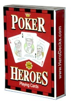 POKER HEROES poker, heroes, playing cards, johnny moss, doyle brunson, amarillo slim preston