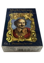 SHAKESPEARE VOL 1 shakespeare, playing cards, quotes, cards, prospero art, bard