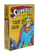 SUPERGIRL supergirl, playing cards, comic books, superman,