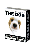MINI THE DOG playing cards, animals, animal, dogs, pets
