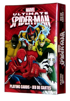 Ultimate Spider Man Tv Film Playing Cards Gamblers