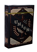 UNION PLAYING CARDS thoery11, theory 11, 11, eleven, playing cards, union, patriotic, nomad, american,