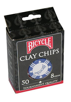 BICYCLE 8GR RED,BL CHIPS