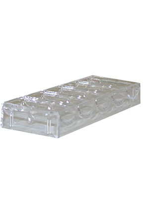CHIP RACK W/ LID 100 CAP