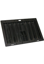CHIP TRAY,360  CAP POKER BLACK