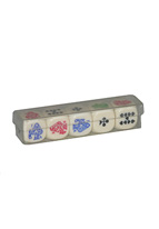 POKER SET OF 5 DICE