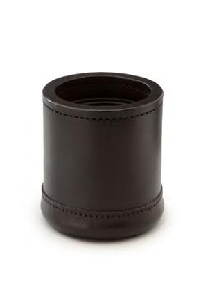 DICE CUP, LEATHER
