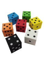 FOAM DICE 25MM