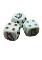 "OWL DICE GREY BLACK BROWN ""Casino quality dice, used casino dice, game dice, backgammon dice, novelty dice, dice sticks,  dice accessories, balancers, cancellers, dice cup, dice games, dice squares, micrometer, craps accessories, 3/4 inch dice, 11/16 inch dice, round edge dice, green sand finish dice, red sand finish dice, 2 inch foam dice, 4 inch foam dice, controlled casino dice, 3/4 inch casino dice, polished casino dice, crooked dice, doubled dice, cancelled dice, doubling cubes, metak dice, miniature dice, giant dice, pai gow 5/8 inch dice, round dice, ten-sided dice, 20-sided dice, dice sticks, dice balancing caliper, dice cancellers, dice bowls"""