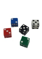 PROMOTIONAL SQUARE CORNERED DICE 12MM