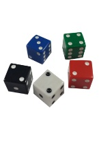 PROMOTIONAL SQUARE CORNERED DICE 19MM