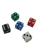 PROMOTIONAL SQUARE CORNERED DICE 8MM