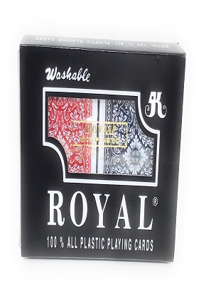 Royal plastic cards