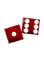 FLAMINGO RED DICE