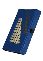 DOMINO - DOUBLE 6 JUMBO BLUE