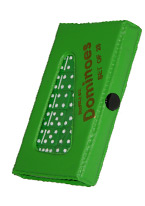 DOMINO - DOUBLE 6 JUMBO GREEN