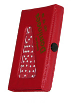 DOMINO - DOUBLE 6 JUMBO RED