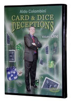 ALDO COLOMBINIS CARD AND DICE DECEPTIONS VOL. ONE