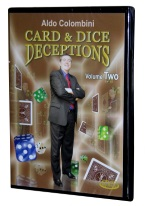 ALDO COLOMBINIS CARD AND DICE DECEPTIONS VOL. TWO