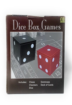 Dice box games