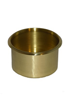 BRASS JUMBO DROP DRINK HOLDER