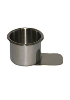 DRINK HOLDERS, SLIDE UNDER, STAINLESS STEEL