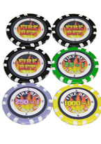 FIRE BET CHIPS SET OF 6