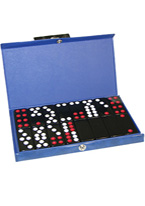 PAI GOW DOMINOS BLUE CASE