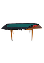 POKER HOODY LARGE RACETRACK TABLE COVER