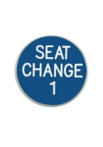 1.25 INCH SEAT CHANGE 1 BLUE/WHITE