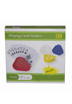 Card Holders 4pc Triangle