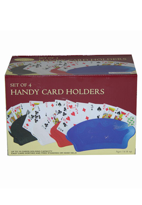 Deluxe Card Holders Set Of 4