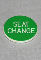"1.25"" GREEN SEAT CHANGE"