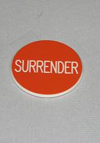 1.75 INCH ORANGE SURRENDER