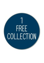 1.75 INCH 1 FREE COLLECTION BLUE/WHITE