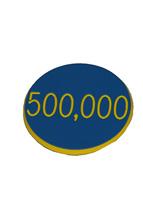 1.25 INCH BLUE 500K