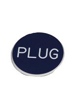 1.25 INCH BLUE PLUG