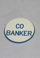 1.25 INCH WHITE CO BANKER