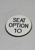 1.25 INCH WHITE SEAT OPTION 10